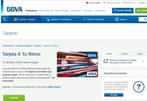 Tarjeta de crédito para estudiantes españoles BBVA