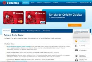 Tarjeta Clásica Banamex