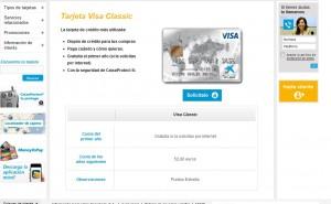 Visa Classic La Caixa